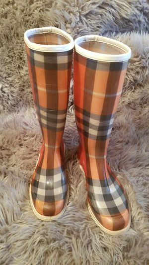 Authentic Burberry rain boots for Sale in Campbell, CA