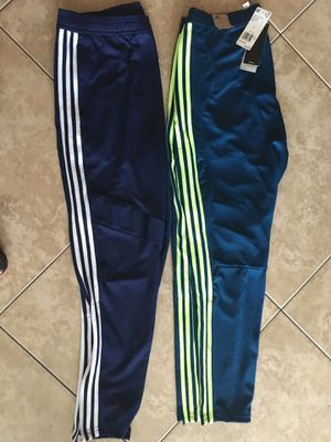 Two new pairs Adidas tiro athletic pants Large for Sale in Miami Gardens, FL