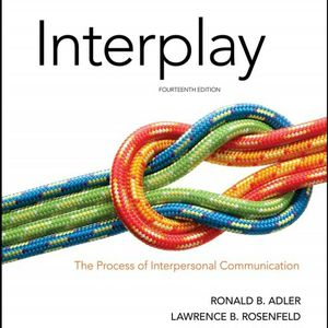 Interplay The Process of Interpersonal Communication 14th 9780190646257 9780190646264 eBook PDF Free Instant for Sale in Walnut, CA