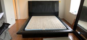 Bed frame and box spring (QUEEN) for Sale in Hampton, VA