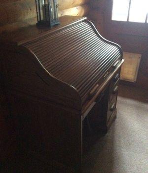 Oak roll top desk for Sale in Leavenworth, WA