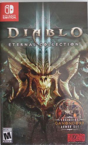 Nintendo Switch Diablo 3 for Sale in Port Orchard, WA