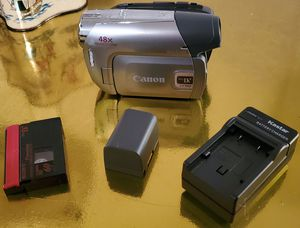 Canon ZR950 Mini Dv Camcorder Camera for PLAYER or VIDEO TRANSFER for Sale in San Antonio, TX