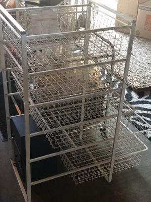 Wire shelf drawer organizer/ Ikea for Sale in Puyallup, WA
