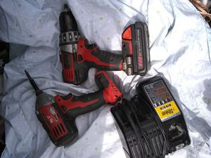 Milwaukee drills and charger for Sale in West Linn, OR
