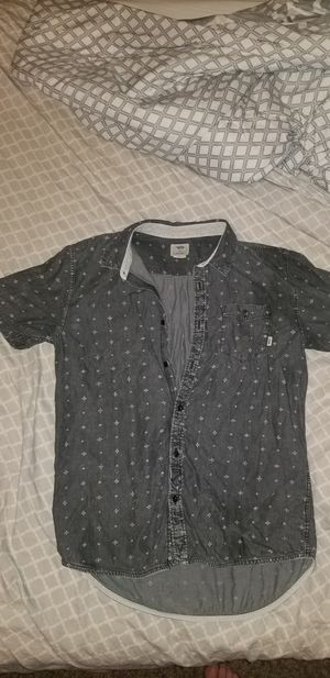 Vans large mens button up shirt for Sale in Richland, WA