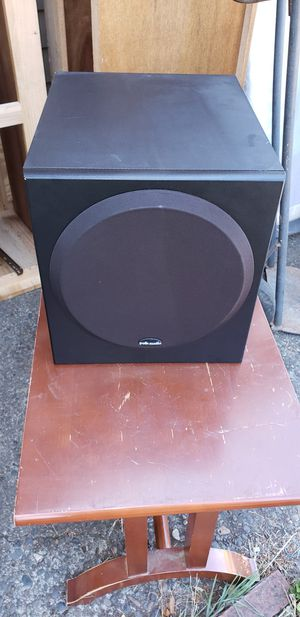 Polk Audio powered subwoofer for Sale in Beaverton, OR
