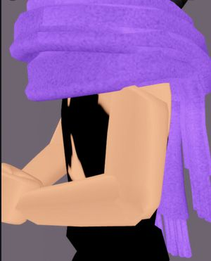 Roblox Royale high shy scarf (virtual item) for Sale in Independence, KS
