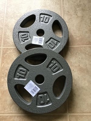 !NEW 2x 10LB PLATES! for Sale in Whittier, CA