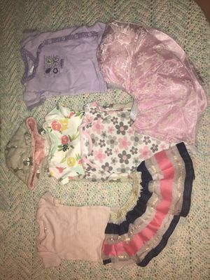 Baby girl onesie and tutu bundle ! (6-9m) for Sale in Fort Worth, TX
