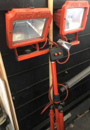 Powerlight tri pod light for Sale in Escondido, CA