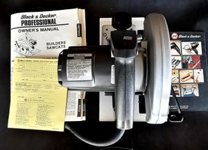 "New & In Box - Black & Decker SAWCAT Professional 7 1/4"" Circular Saw - MAKE AN OFFER ! for Sale in Albuquerque, NM"