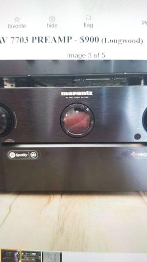 Marantz AV7703 Pre-amp for Sale in Longwood, FL