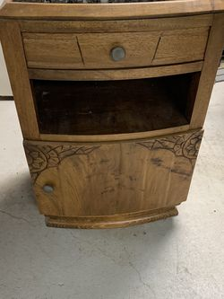 Antique Nightstand With Marble top for Sale in Woodmere,  NY