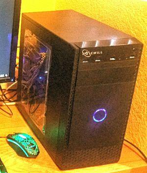 Gaming PC: Core i7 6700, GTX 1060, SSD+HD, 16GB-DDR4, WIFI, PLAY Apex Legends + FortNite for Sale in Santa Maria, CA