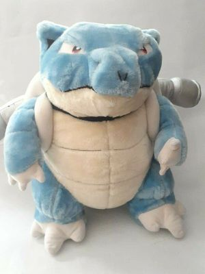 "1999 HTF Pokemon Blastoise Plush Doll Stuffed Animal Toy 18"" Large classic nintendo for Sale in Compton, CA"
