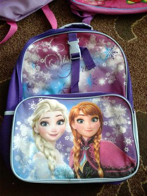 """Backpack, from movie """"Frozen"""" for Sale in Everett, WA"""