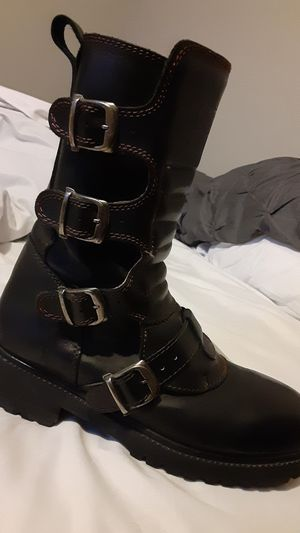 GBX boots,great condition 100% leather,motocycle,rock or normal wear for Sale in Irving, TX