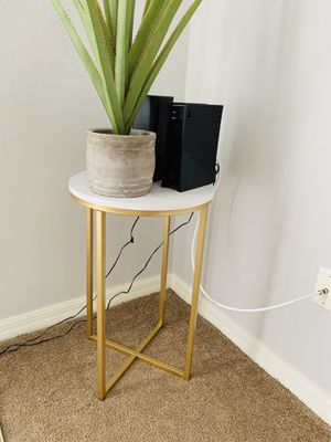 Marble and gold Coffee table and side table for Sale in Orlando, FL