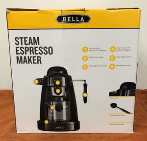 Bella Steam Espresso Maker - CASH & CARRY or will ship for Sale in Athens, PA