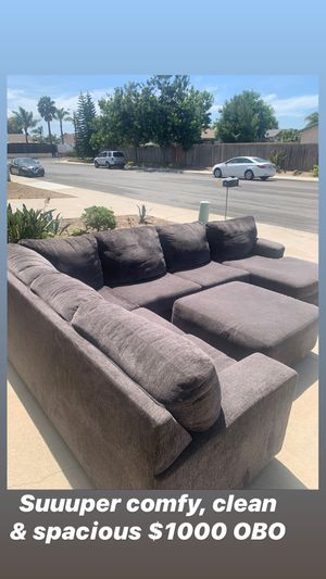 Ashley's Furniture Sectional $1,000 OBO for Sale in Oceanside, CA