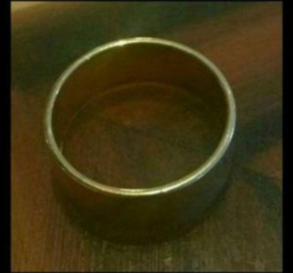 GOLD WEDDING BAND RING