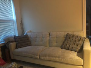 Leather couch for Sale in Hyattsville, MD