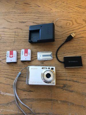Sony Cybershot DSCW90 8MP Digital Camera for Sale in Las Vegas, NV