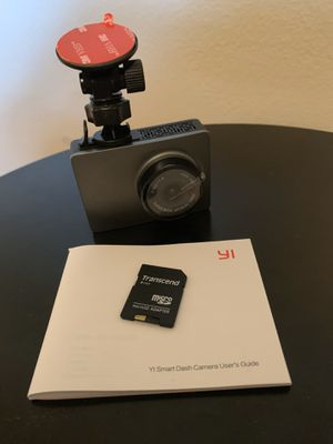 Yi smart dash cam for Sale in St. Petersburg, FL