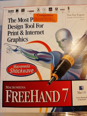Macromedia new Freehand 7 for Sale in Downers Grove, IL