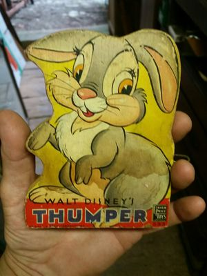 Vintage Fisher-Price Thumper from Bambi Walt Disney toy for Sale in Hasbrouck Heights, NJ
