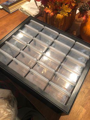 19 1/2 x 16 plastic organizer for Sale in Phoenix, AZ