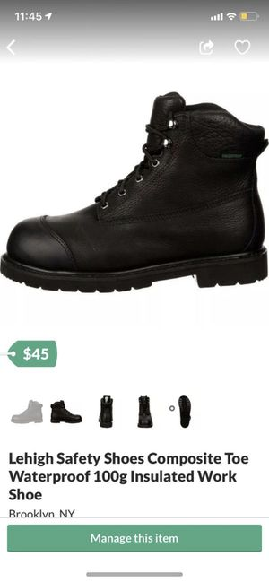 Brand new work boots in box size 11.5 for Sale in Brooklyn, NY