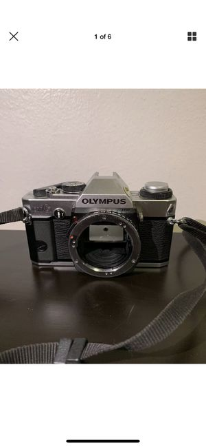 Olympus OMG 35mm SLR Film Camera Body Only PARTS OR REPAIR for Sale in Brooklyn, NY