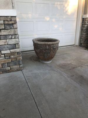 """3 concrete pots 24""""x 24"""" perfect for citrus 🍊 for Sale in Corona, CA"""