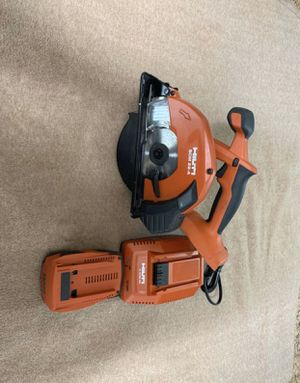Home Tools Power Tools Saws Circular Saws Internet #301714950 Hilti 22-Volt Lithium-Ion Cordless Circular Saw SCW 22 Tool Body for Sale in Miami, FL