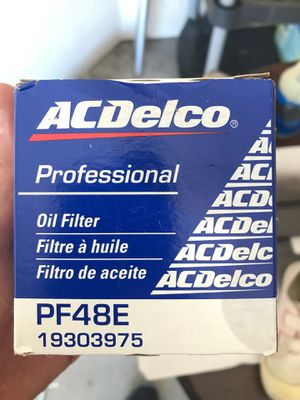 AC Delco PF48E engine oil filter for Sale in Wylie, TX