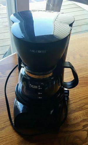 Black Coffeemaker - Mr. Coffee 4 Cups for Sale in Winchester, VA