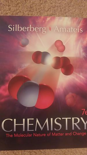 7th edition chemistry, Silberberg for Sale in Portland, OR
