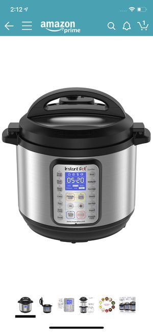 Instant Pot DUO Plus 8 Qt 9-in-1 Multi- Use Programmable Pressure Cooker 8 quart for Sale in San Diego, CA