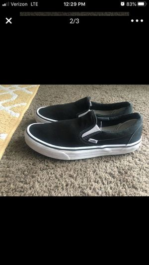 Vans Slip Ons Men's 9.5 for Sale in OKLAHOMA CITY, OK