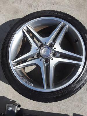 Mercedes Benz wheels C-Class Wheels AMG Wheels S-Class wheels c-43 wheels C63 Wheels Mercedes-Benz rims AMG rims GL rims ml rims for Sale in Fullerton, CA
