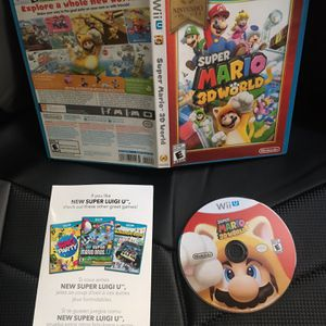 Super Mario 3D World - Nintendo Wii U for Sale in Murrieta, CA