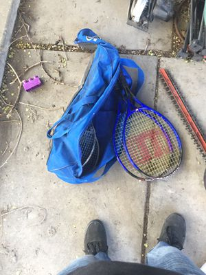 4 tennis rackets for Sale in Salt Lake City, UT