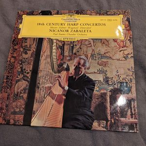 18th Century Harp Concertos Vinyl Record for Sale in Huntington Beach, CA