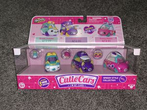 Shopkins Cutie Cars Set QT2-29/30/31 for Sale in St. Louis, MO