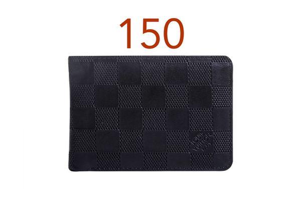 Louis Vuitton Men Wallet Black
