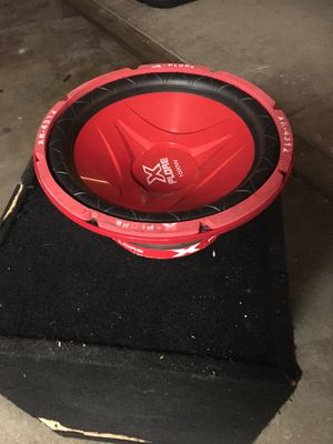 "12"" Xplore 1000 Watt Subwoofer for Sale in Lynwood, CA"
