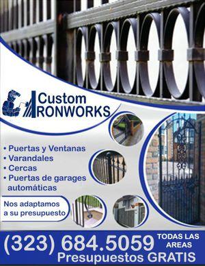 Asemos travajos de varandales,cercas,puertas etc. for Sale in South Gate, CA