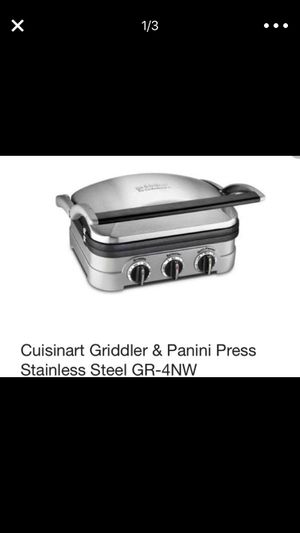 Cuisinart griddler panini press and waffle iron for Sale in Denver, CO